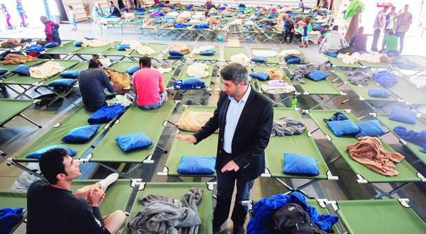 Muslime öffnen Moscheen für Flüchtlinge