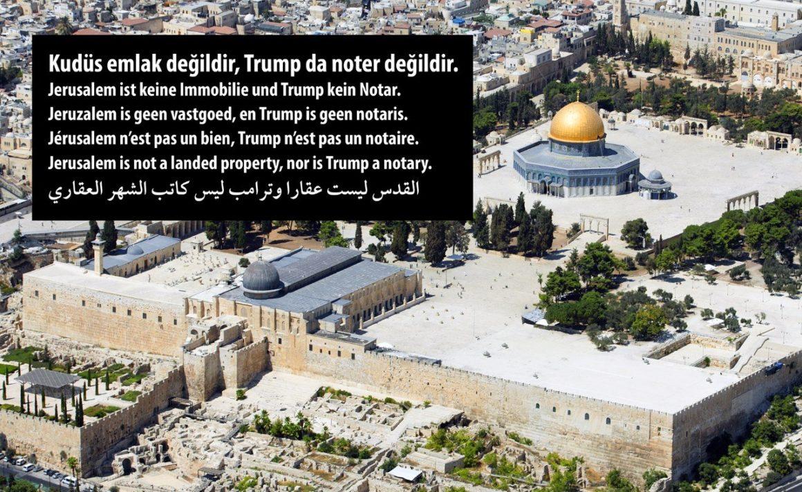 Erklärung für Frieden und Menschenwürde in Jerusalem